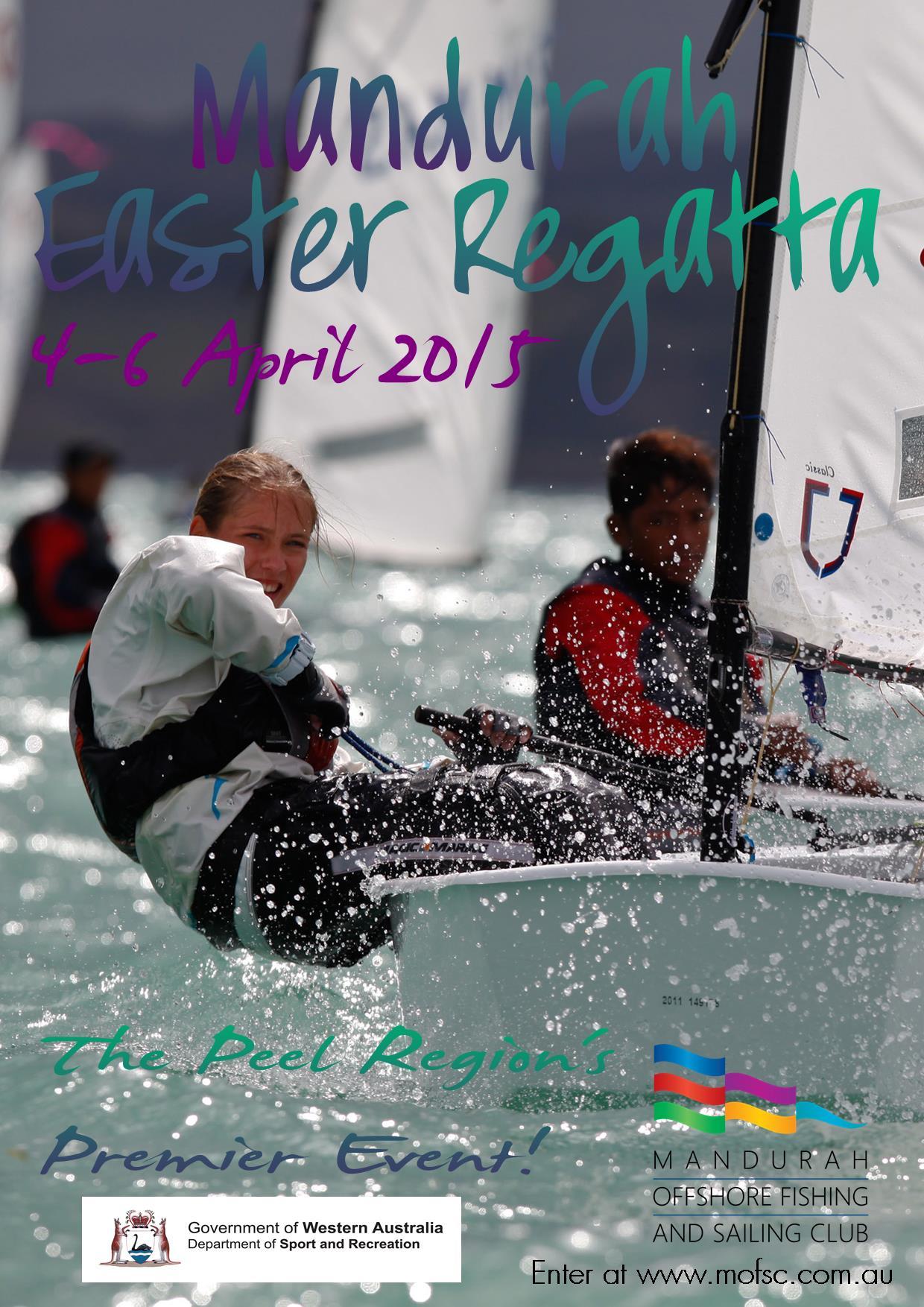 Easter Regatta 2015 Poster