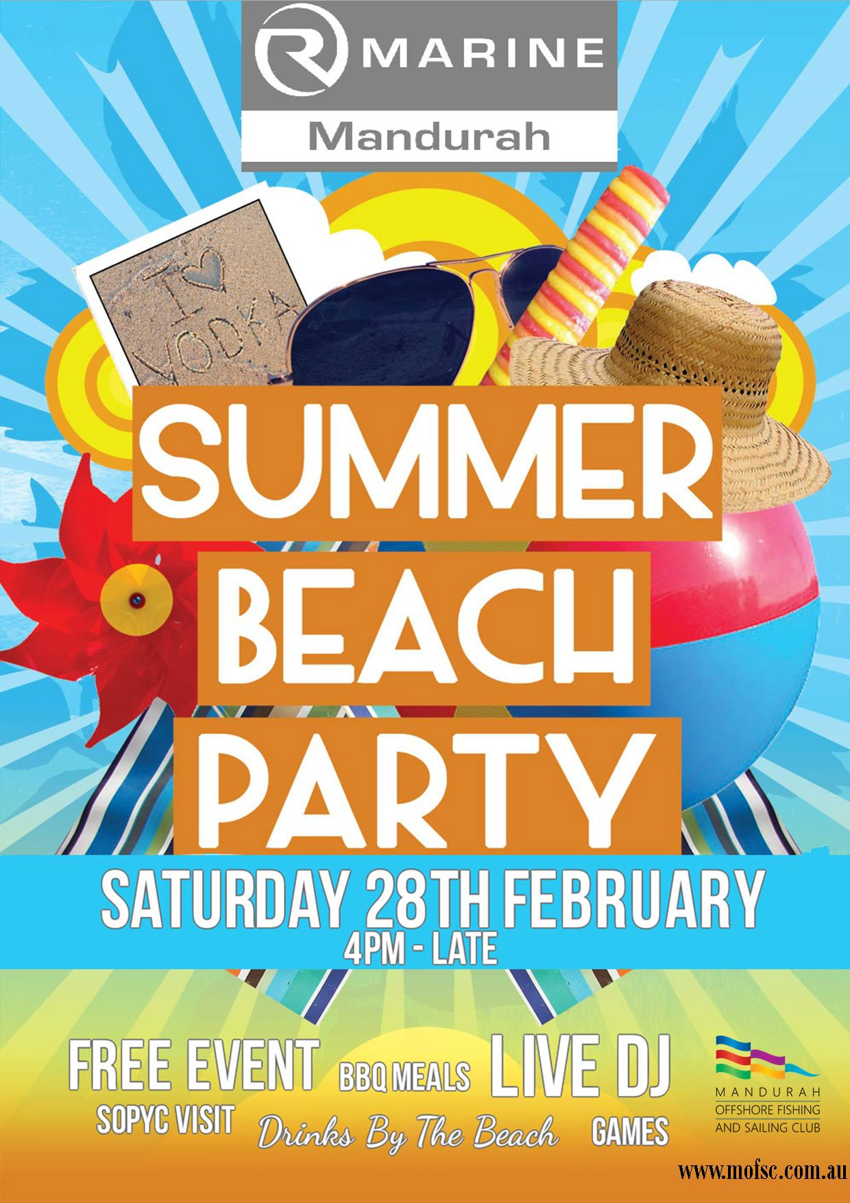 Beach Party Final Poster