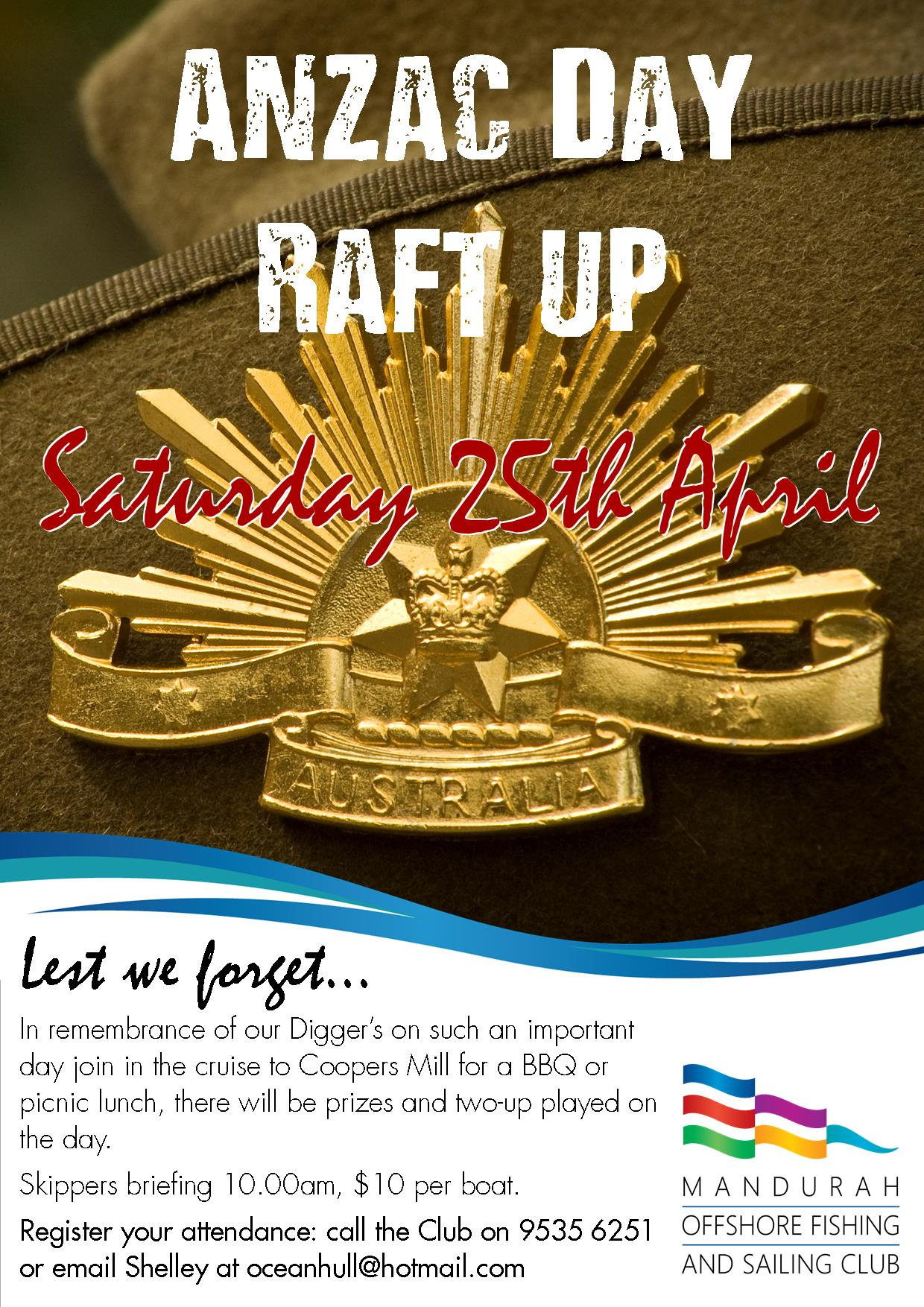 Anzac Day Raft Up