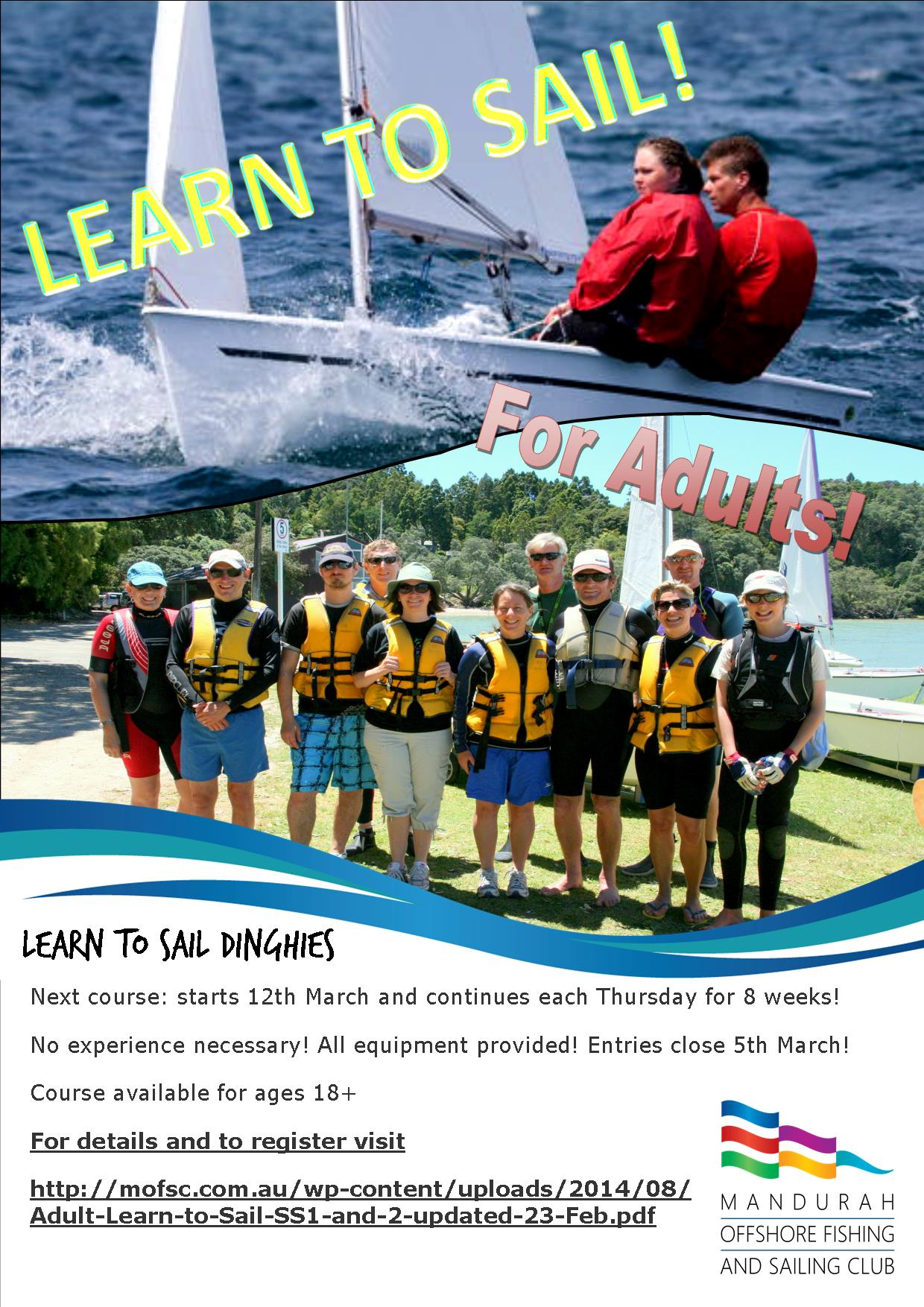 Learn to Sail Dinghies