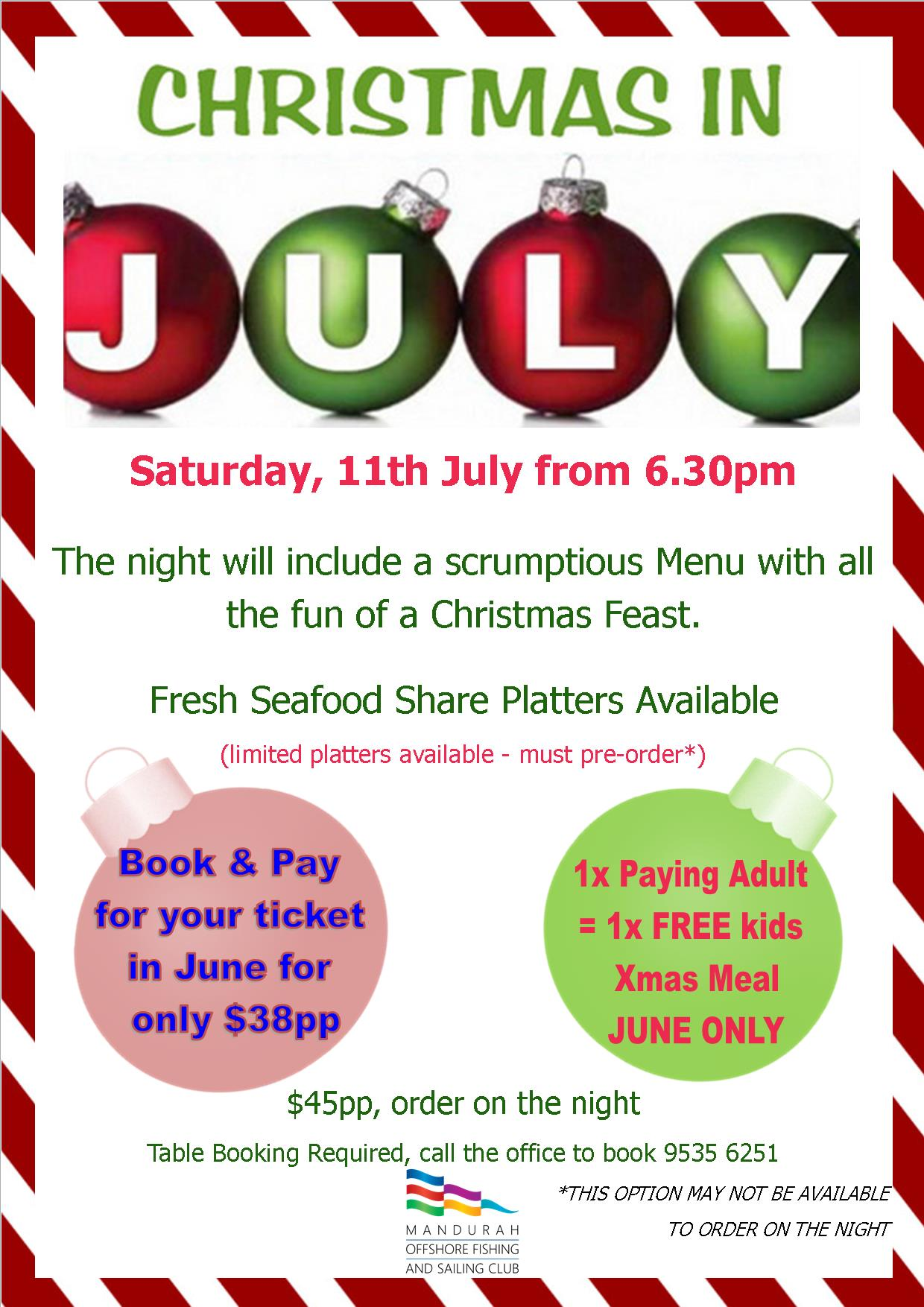 Christmas in july new 2015