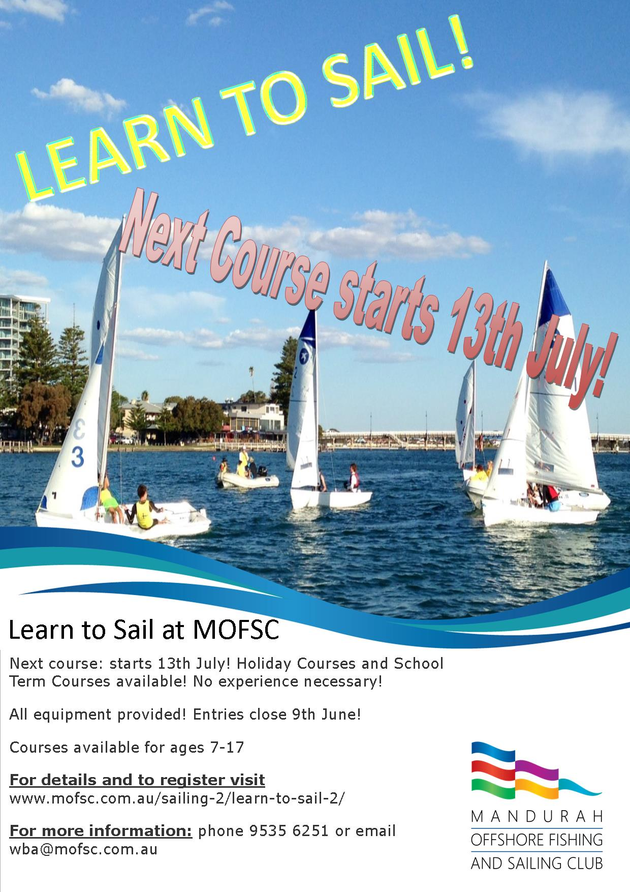 Learn to Sail for Kids AJuly 2