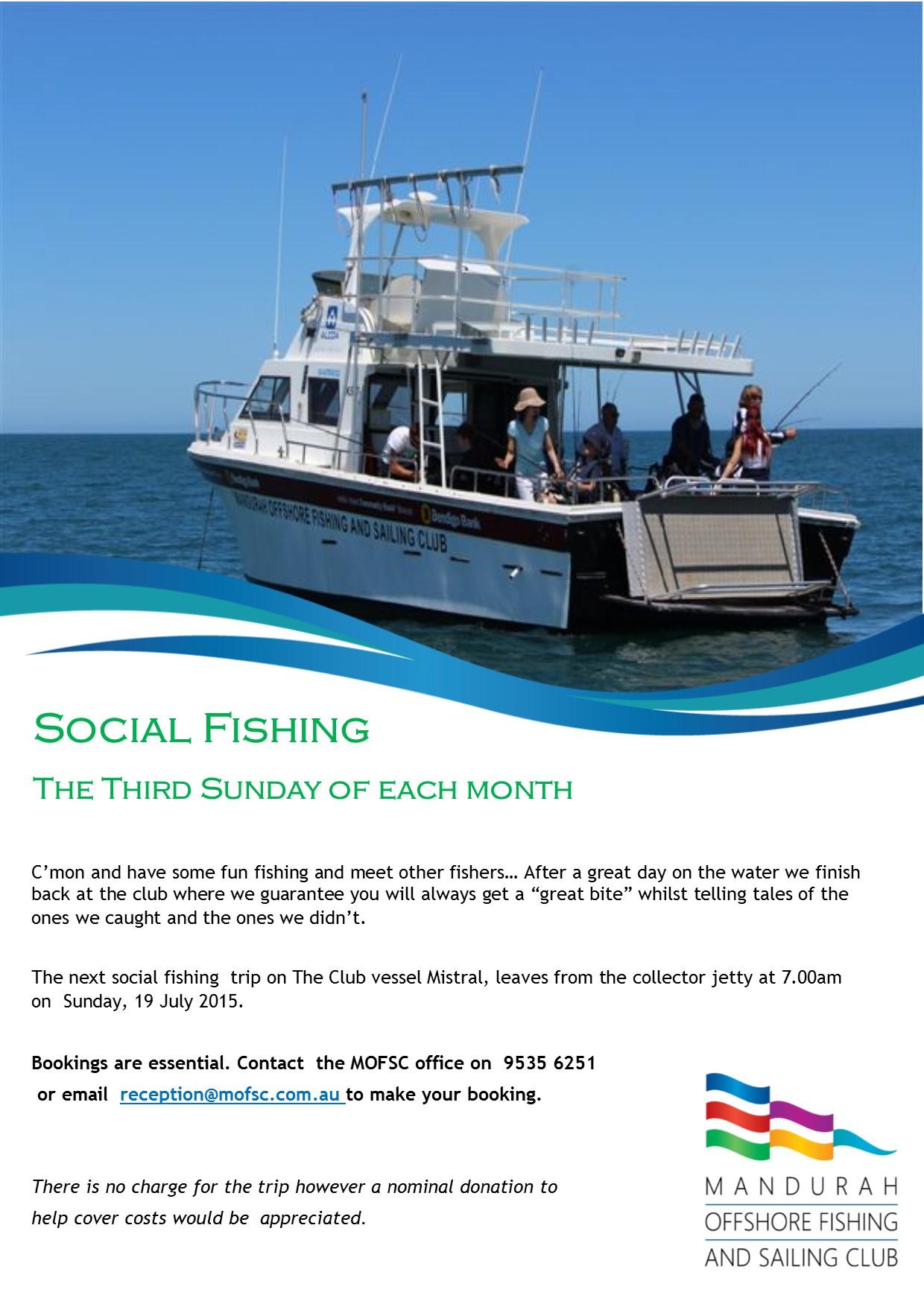 Social Fishing July
