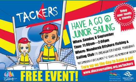 tackers free sailing