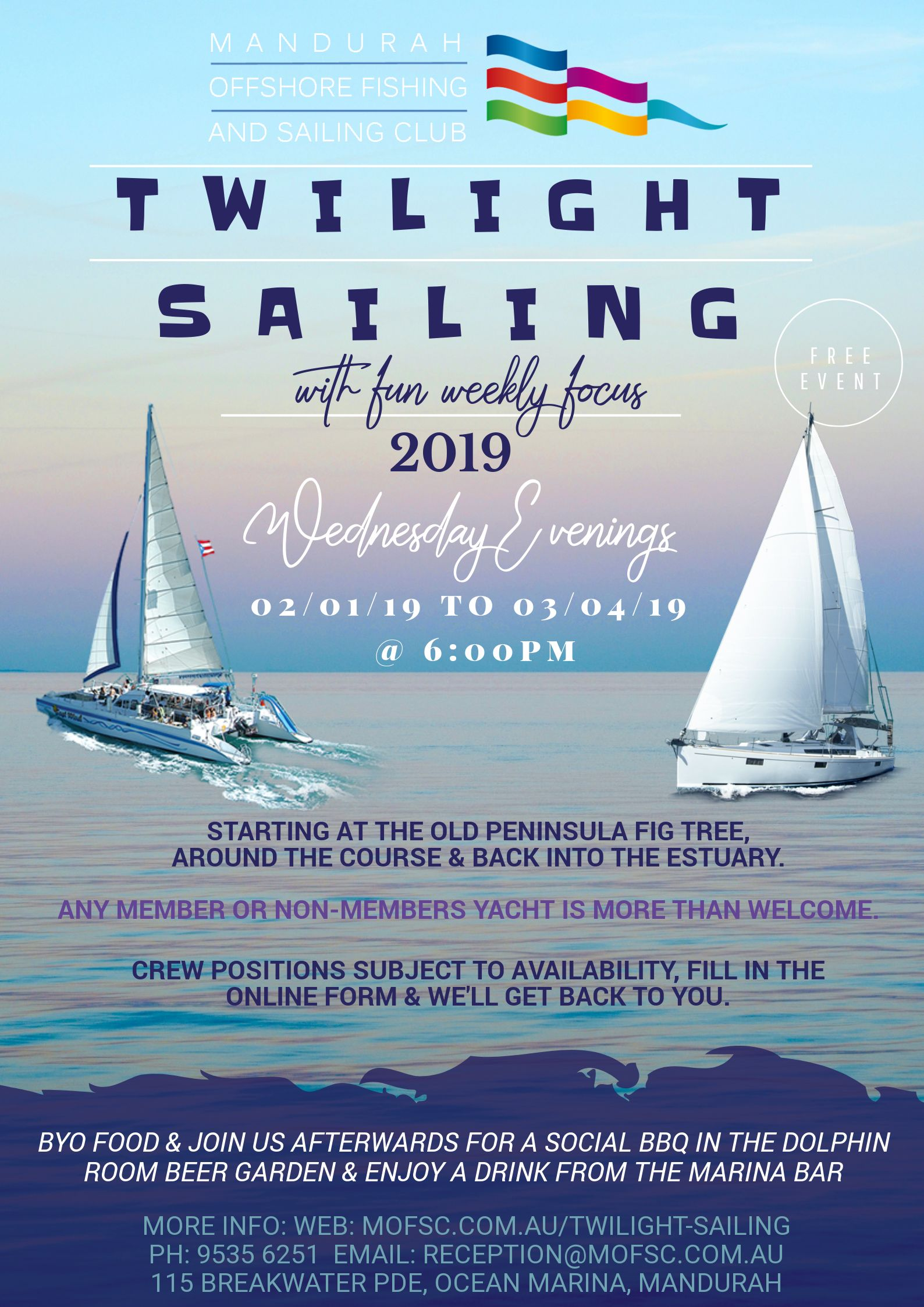 2ffe3c27 Do you have a yacht that you could get more use from? Then maybe you should  consider Twilight Sailing! It is the perfect way to end the day enjoying ...